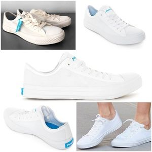 PEOPLE FOOTWEAR Phillips Lace-Up Sneakers White